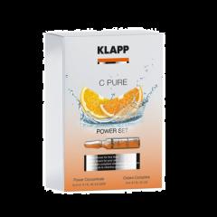 Klapp C-Pure Power Set arc kezelés