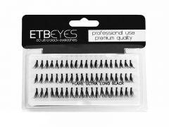 ETB Eyes – tincses műszempilla ultra fekete 60db - S