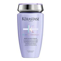 Kérastase Blond Absolu Bain Ultra-Violet sampon szőkített, melírozott, hideg szőke hajra 250ml