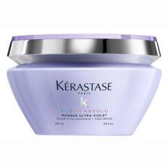 Kérastase Blond Absolu Masque Ultra-Violet mélyápoló maszk szőkített, melírozott, hideg szőke hajra 200ml