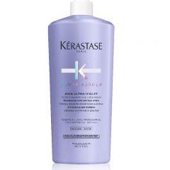 Kérastase Blond Absolu Bain Ultra-Violet sampon szőkített, melírozott, hideg szőke hajra 1000ml