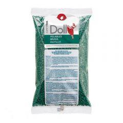Doll Elasztikus gyantagyöngy Zöld 1000g