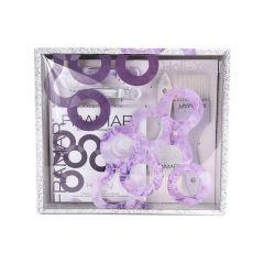 Framar 2 ecset + 2 csatt + 50 alumínium melírfólia szett