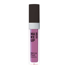 Make up Factory Mat Lip Fluid Longlasting Toxic Violet 84