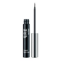 Make up Factory Liquid Eye Liner Black 01