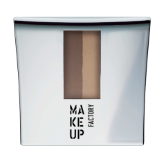 Make up Factory Eye Brow Powder Chocolate Brown 4