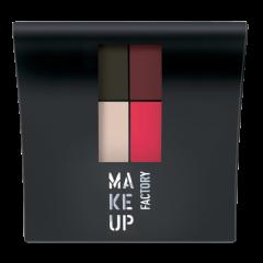 Make up Factory Mat Eye Colors Q Red Rebel 020