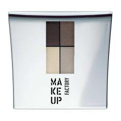 Make up Factory Quattro Eye Shadow Dim Greyge 04