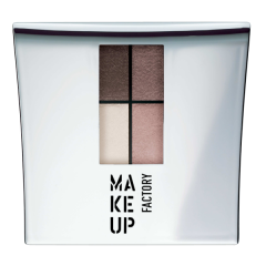 Make up Factory Quattro Eye Shadow Pearly Cinnamon 08