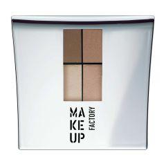 Make up Factory Quattro Eye Shadow Bronze Treasure 14