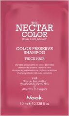 Nook Nectar Color Thick hair Color Preserve Hair Sampon 12ml