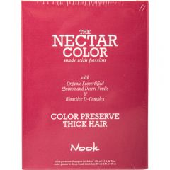 Nook Nectar Color Thick Hair Color Preserve Deep Maszk 12ml