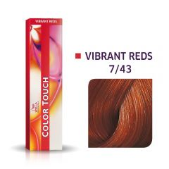 Wella Color Touch 7/43 60ml