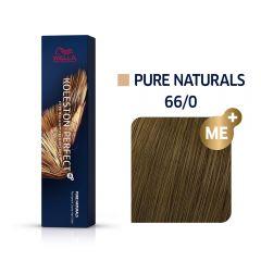 Wella Koleston Perfect Me+ Pure Naturals Gesztenye Természetes Barna Professzionális Hajfesték 66/0 60 ml