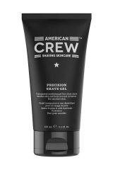 American Crew Shave & Beard Precision Shave Gel borotválkozási gél az érzékeny arcbőrre 150 ml